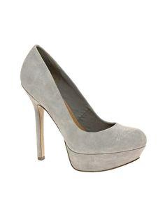 I love gray suede platforms, I need gray suede platforms!