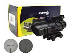 61.09$  Watch here - http://ali8fq.worldwells.pw/go.php?t=1548025405 - Sniper 4X32E Rifle Scope illuminated Red/Green/Blue reticle Sight 61.09$