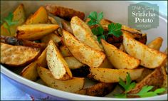 Tired of potato wedges? Yeah, me neither! Especially when you kick them up a notch and make them spicy-hot with Rooster Sriracha Sauce!  My hubby, his whole life, has been a sworn hot sauce hater. He really doesn't care for anything hot, actually. Aaaaand, of course, I'm the opposite. I LOVE the hotRead More...