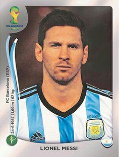 430 Lionel Messi - Argentina - FIFA World Cup Brasil 2014