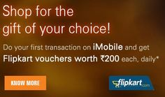 ICICI Bank Flipkart Gift Voucher Offer : Free Rs.200 Flipkart Gift Voucher - Best Online Offer