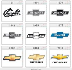 Chevy Logo History Someday, I'll have one of these on my yellow ...
