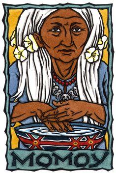 Grandmother Momoy, Chumash Goddess of Tradition and Medicine