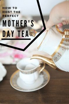 Celebrate the holiday with a fancy Mother's day tea party. Here's how to set it up and everything you need for a memorable party. #runtoradiance #mothersdaytea #diyteaparty #mothersdayteapartyideas Mothers Day Breakfast, Mothers Day Brunch, Easy Diy Gifts, Homemade Gifts, Fun Crafts, Crafts For Kids, Homemade Playdough, Gold Spray Paint, Some Fun