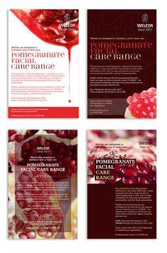 Weleda Leaflet Designs