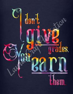 I Don't Give Grades cut file Silhouette Cricut svg jpg png pdf Studio V3  Teach your students the facts, they have to EARN their grades.  Included in the zip download are SVG, PNG, JPG, PDF and Studio V3 formats.  Please check out my other designs here at Etsy https://www.etsy.com/shop/LaurasCraftAddiction  This is a digital download, not a finished product.  I personally have a Silhouette Cameo, and have limited knowledge of Design Space, and other cutting software, but will help in any…