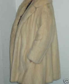 Mink fur coat for sale - vintage - great condition - only $26 bid now - $26 (Ebay)