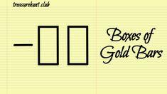 Box of Buried Treasure Deposit Yamashita Treasure Signs - Part 1 Gold Deposit, Japanese Symbol, Hunt Club, Buried Treasure, Vintage Bottles, Antiques For Sale, Hidden Treasures, Old Coins, Antique Items