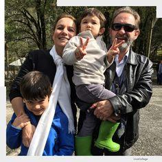 Amor de avós!  #famíliastica #shiraishis #lazercomfilhos #curitiba #chacaraevissima #verde #natureza #vovôstica #verdepraquetequero