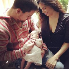 Channing Tatum and family