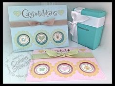 ▶ Simply Simple FLASH CARD 2.0 - Three Window Baby Card by Connie Stewart - YouTube#t=292