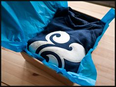 Premium Ampersand Crewneck (Navy)  Made in the USA  $62
