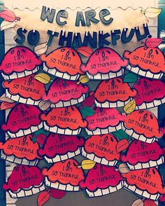 It wouldn't feel like November 1st without a new Thanksgiving themed board to put up now would it!? We read The Thankful Book by Todd Parr and wrote about something we are truly thankful for.  From family and friends to candy, we wrote about it all- with lots of details of course!  I'll have it posted tonight with four writing prompt options.  #wearesothankful#fall#thanksgiving#bulletinboardideas#writingcraft#thethankfulbook#astrobrights#teachersfollowteachers#teachersofinstagram#teache...