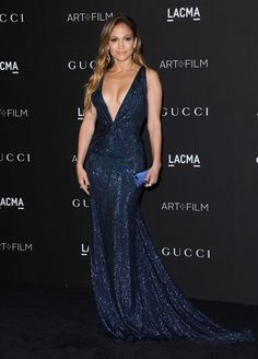 Beautiful in Blue - Jennifer Lopez's Most Glam Looks - Photos