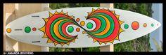 Surfboard art  - By Amanda Bouveng