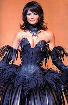Helena for Thierry Mugler, s/s 1994