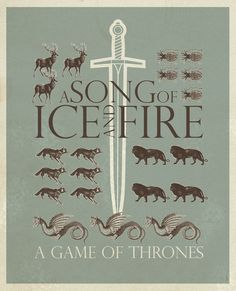 Game Of Thrones Art Print by Greg-guillemin.