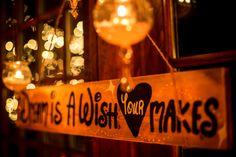 Disney wedding sign