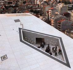 casa da música in porto, portugal.