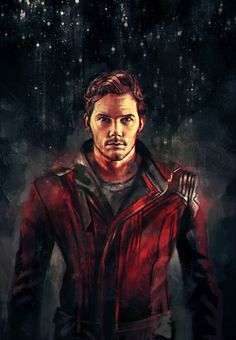 Guardians of the galaxy fan art Star Lord Marvel Comics, Marvel 3, Marvel Universe, Marvel Heroes, Marvel Fan Art, Star Lord, Captain America, Gaurdians Of The Galaxy, Super Anime