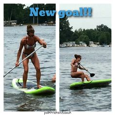 My new goal for the Summer-Paddle boarding!! I tried this inflatable one last Summer and you can see how that turned out . I'm always up for a new adventure! How about you? What is your next adventure? #newadventures #faithfulfitness #trysomethingnew