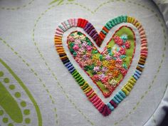 Imogen Eve: Embroidering hearts