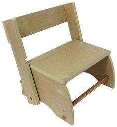 teamson childrens step stool large natural