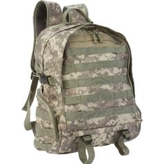 Cool! :)) Pin This & Follow Us! zCamping.com is your Camping Product Gallery ;) CLICK IMAGE TWICE for Pricing and Info :) SEE A LARGER SELECTION of tactical backpacks  at http://zcamping.com/category/camping-categories/camping-backpacks/tactical-backpacks/ #tactical #hunting #bags #camping #backpacks #campinggear #campsupplies -  Extreme Pak 17″ Digital Camo Backpack with US Shelby P38 Keychain Can Opener « zCamping.com