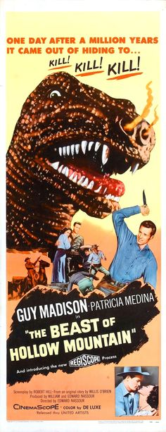 The Beast of Hollow Mountain (1956, USA / Mexico)
