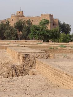 Ruins of Palace of Darius the Great with Chateau de Morgan Castle - Shush - Southwestern Iran by Adam Jones, Ph.D., via Flickr