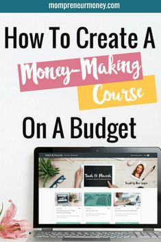 Are you ready to package what you know into a course, but you don't want to spend hundreds of dollars on software and equipment? Make Money Blogging, How To Make Money, Earn Money, Money Tips, Saving Money, Business Tips, Online Business, Business Coaching, Craft Business