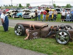American Rat Rod Cars & Trucks For Sale: Rat Rods -W/ How Low Can You Go! same approach. Rat Rod Trucks, Rat Rod Cars, Cool Trucks, Chevy Trucks, Cool Cars, Truck Drivers, Big Trucks, Dually Trucks, Diesel Trucks