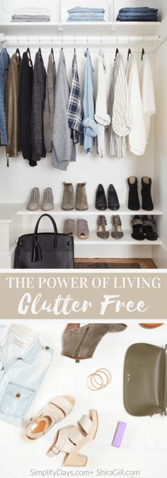 Tips to living clutter free