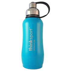 Thinksport Insulated Sports Bottle - 25oz (750ml) - Light Blue