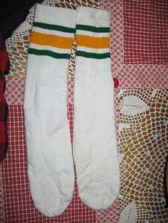 bb6e811c69 VINTAGE SKATER Socks Not Tube Socks Actual Roller Skate Socks Made In Usa -   69.99