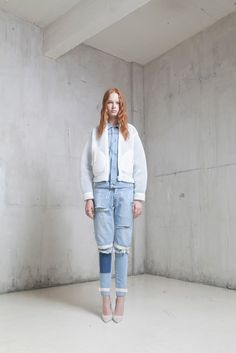 Off-White Spring 2015 Ready-to-Wear - Collection - Gallery - Look 1 - Style.com