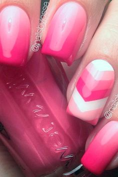 + Perfect Pink Nails Designs to Finish Incredibly Girly Look ★ See more: http://glaminati.com/perfect-pink-nails/