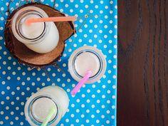 Suco de Limão com Leite de Coco