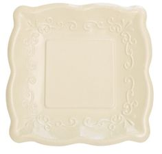 Ivory Linen Embossed Paper Dessert Plates  sc 1 st  Pinterest & Lot 48 premium embossed linen ~ dark ivory 10