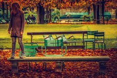 The Little Girl in the Park by Nikolaos Chatzigeorgiadis on 500px