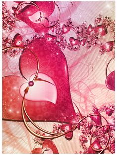 Love at first sight by Yasny-chan on deviantART ~ fractal art valentines