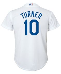 97d9a53625c Justin Turner Los Angeles Dodgers Player Replica Cool Base Jersey