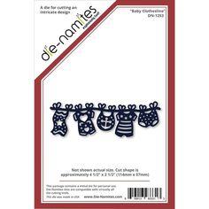 Die-Namites - Die - Baby Clothesline at Scrapbook.com