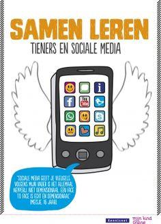 Samen Leren: Tieners en Sociale Media - Makkelijker leren met sociale media. Leerlingen gebruiken sociale media op grote schaal om te leren voor school en voor hun hobby's. Op YouTube en Google zoeken ze naar extra informatie over de lesstof of ze overleggen met klasgenoten via Twitter, Facebook en Whatsapp.