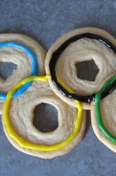 Celebrate the Olympics with Cookie Rings