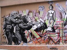 Hosier Lane Graffiti and Street Art, Melbourne