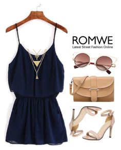 """""""Romwe"""" by hungry-unicorn ❤ liked on Polyvore"""