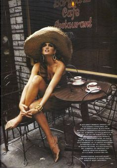 Cindy Crawford (1966- ) #coffee #celebrity #model #cindycrawford