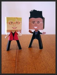 Simon Singh and Psychic Sally Free Paper Toys Download - http://www.papercraftsquare.com/simon-singh-psychic-sally-free-paper-toys-download.html