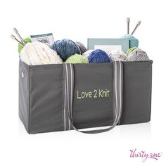Keep your craft supplies organized with the Large Utility Tote, only $10 this month with a $35 purchase!
